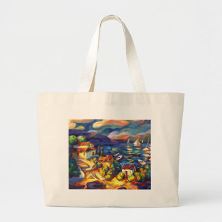 Village by the Sea Tote Bags