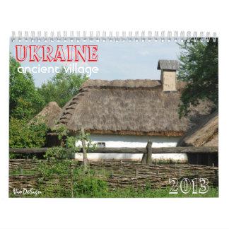 Village_calendar antiguo de UCRANIA Calendarios