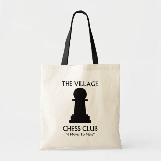 Village Chess Club Tote Bag