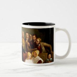 Village choir (see also 12274) Two-Tone coffee mug