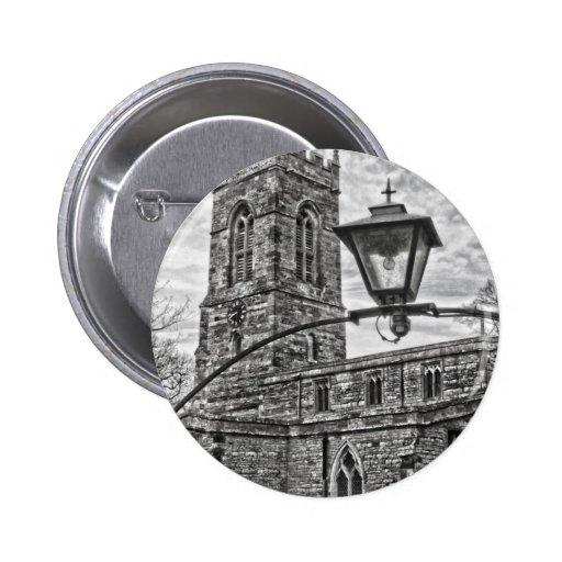 Village Church 2 Inch Round Button