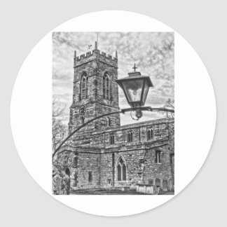 Village Church Classic Round Sticker