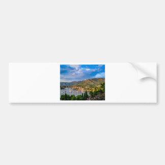 Village ,Croatia,Europe Car Bumper Sticker