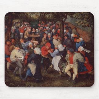 Village Dance (oil on panel) Mouse Pad