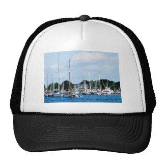 Village Dock at Wickford, RI Trucker Hat