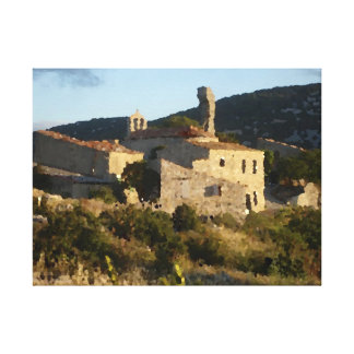 Village given up in Spain Canvas Print
