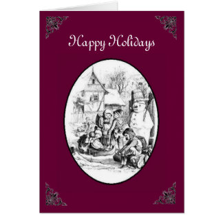 Village Holiday Card