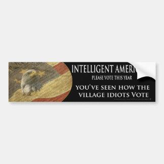 Village Idiots Bumper Sticker Car Bumper Sticker