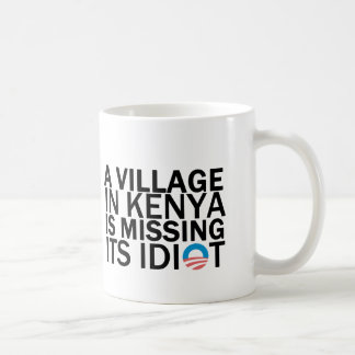 Village in Kenya Is Missing Its Idiot Coffee Mug