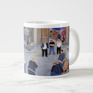 Village in Provence Large Coffee Mug