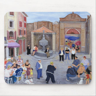 Village in Provence Mouse Pad