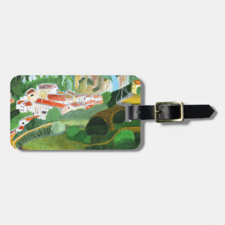 Village in the Mountain Luggage Tag