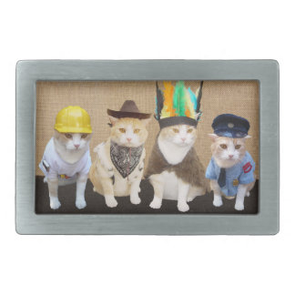 Village Kitties Belt Buckles