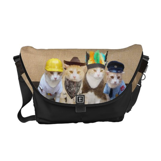 Village Kitties Courier Bag