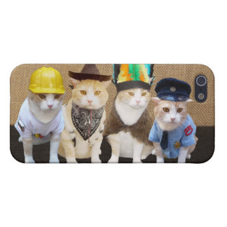 Village Kitties Cover For iPhone SE/5/5s