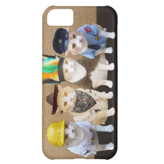 Village Kitties II Cover For iPhone 5C