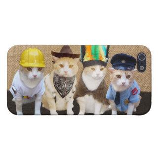 Village Kitties iPhone SE/5/5s Case