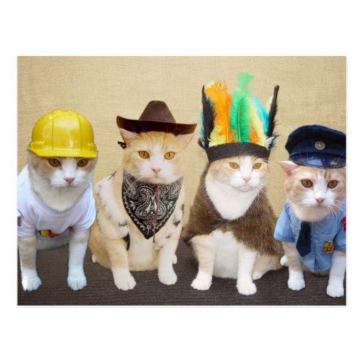 Village Kitties Postcards