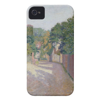 Village Lane (oil on canvas) iPhone 4 Case-Mate Case