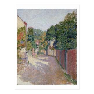 Village Lane (oil on canvas) Post Card
