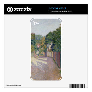 Village Lane (oil on canvas) Skin For The iPhone 4
