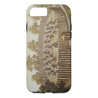 Village of an Indigenous Tribe in Florida, engrave iPhone 7 Case
