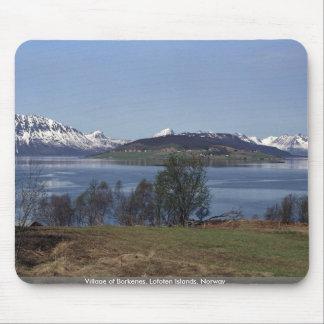 Village of Borkenes, Lofoten Islands, Norway Mouse Pad