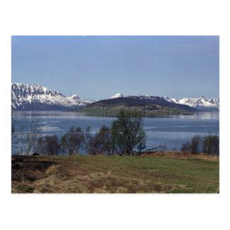Village of Borkenes, Lofoten Islands, Norway Postcard