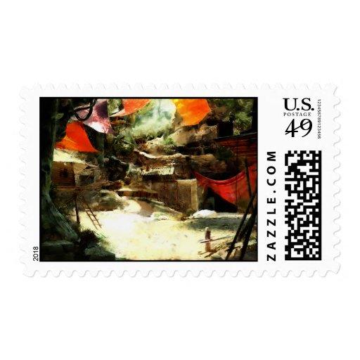 Village of Fools Stamp