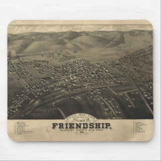 Village of Friendship Allegany Co New York (1882) Mouse Pads