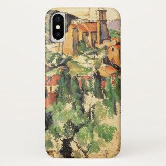 Village of Gardanne by Paul Cezanne, Vintage Art iPhone X Case