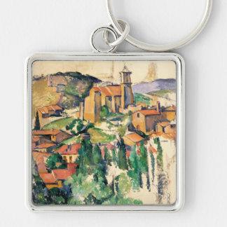 Village of Gardanne, Paul Cézanne Keychain