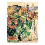Village of Gardanne, Paul Cézanne Postcard