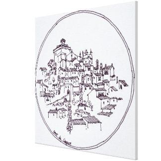 Village of Haut de Cagnes | Provence, France Canvas Print