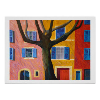 village of Provence Poster