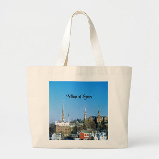 Village of Spires Canvas Bag