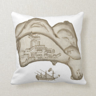 Village of the Victory Throw Pillow