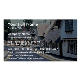Village on the Isle of Wight, U.K. Europe Double-Sided Standard Business Cards (Pack Of 100)