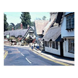 Village on the Isle of Wight, U.K. Europe Postcard