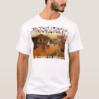 village people 2, WELCOME TO AFRIC... - Customized T-Shirt