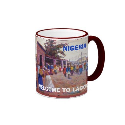 village people of Lagos, village people of Lago... Coffee Mug