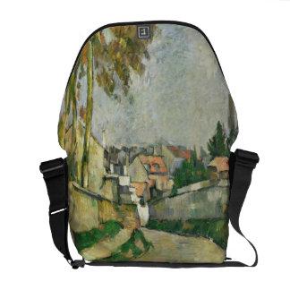 Village Road, 1879-82 (oil on canvas) Messenger Bag