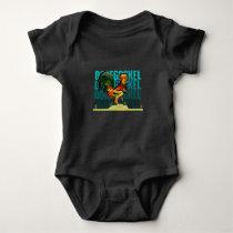Village Rooster Baby Bodysuit