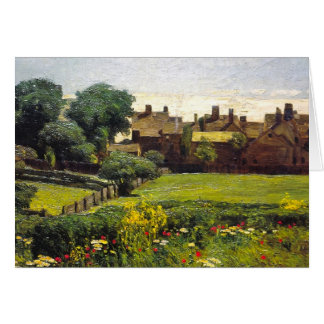 Village Scene Card