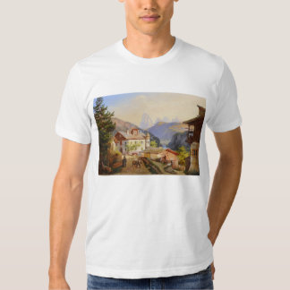 Village scene of St Peter Josef Arnold the Younger Shirt