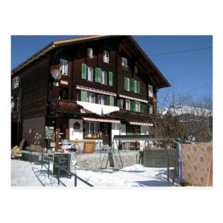 Village shop, Gimmelwald, Jungfrau,Switzerland Postcard