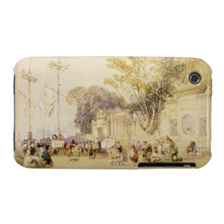 Village Square in the Bay of Hong Kong, plate 5 fr iPhone 3 Case-Mate Case