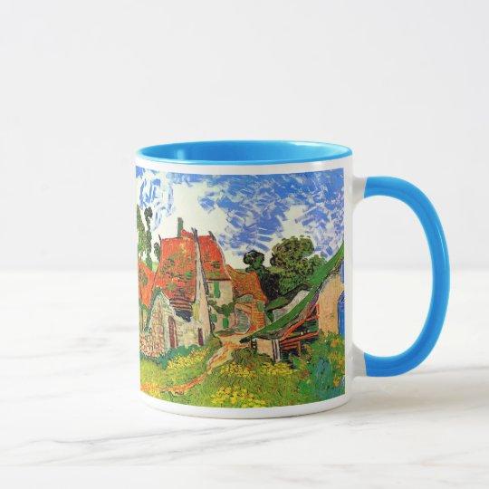 Village Street Auvers Van Gogh Fine Art Mug