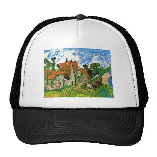 Village Street in Auvers by Vincent Van Gogh Trucker Hats