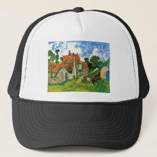 Village Street in Auvers by Vincent Van Gogh Trucker Hat